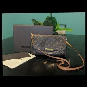 Louis Vuitton Favorite MM crossbody w receipt